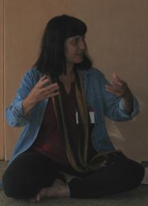 Lauren Raine Speaks in Sacred Circle.