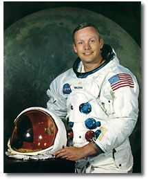 Neil Armstrong b. August 5, 1930 d. August 25, 2012 Photo courtesy of NASA