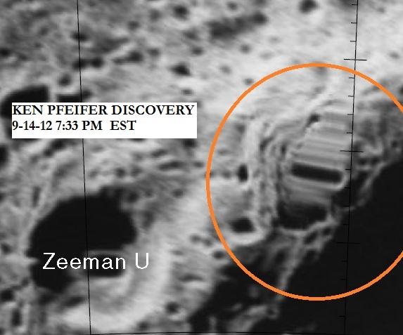 Moon anomaly Courtesy Of NASA and Ken Pfeifer.