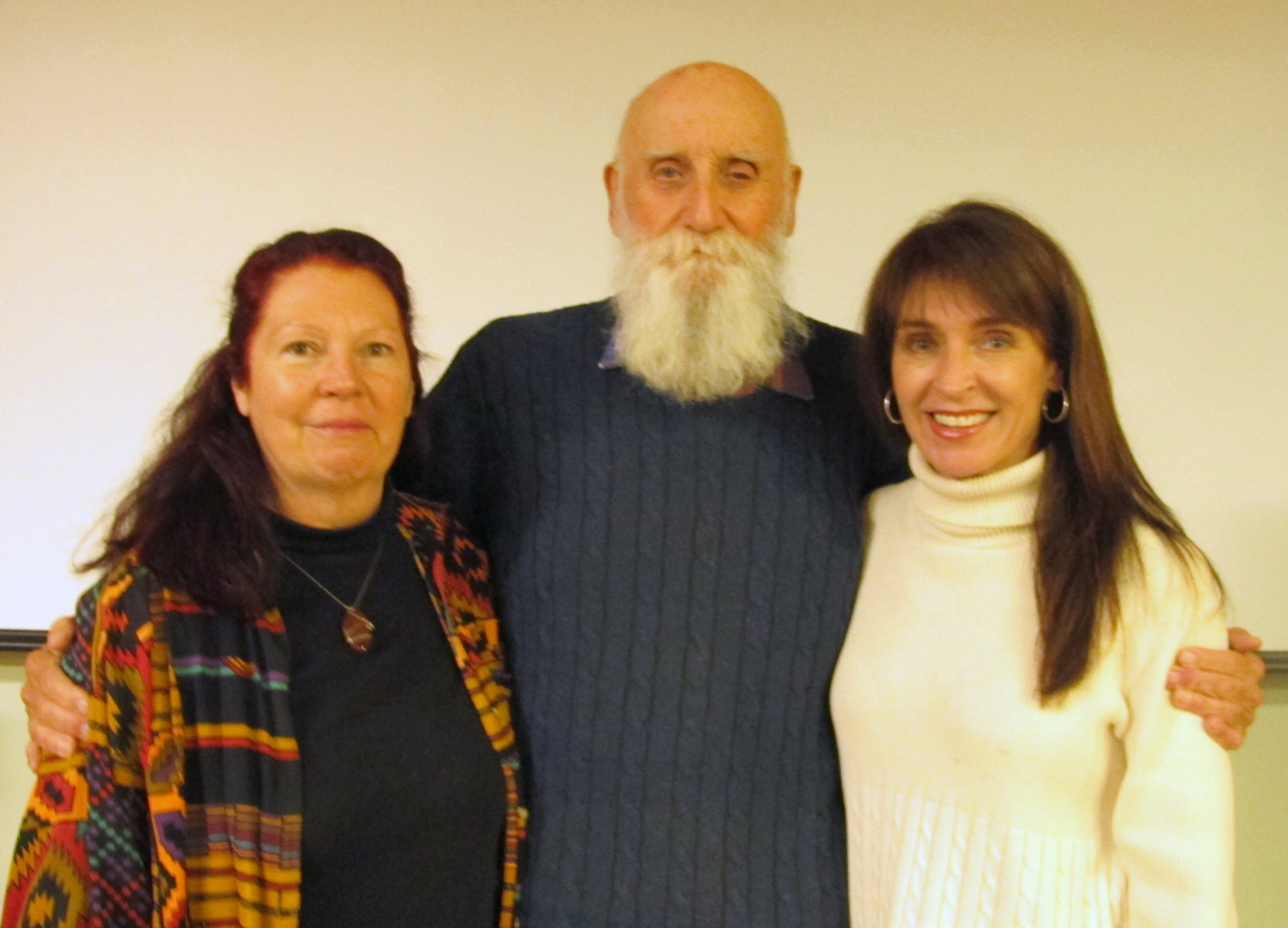 Authors Linda LeBlanc and John Knowles and Artist Patty Ray Avalon