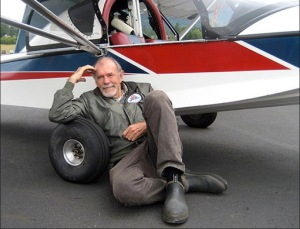 Richard Bach, author aviator and philosopher
