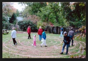 The Labyrinth in Charlottesville. Courtesy UU World